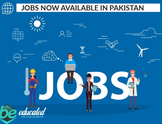 Jobs now available in Pakistan Any Types