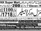 General Worker,Helper jobs in Malaysia
