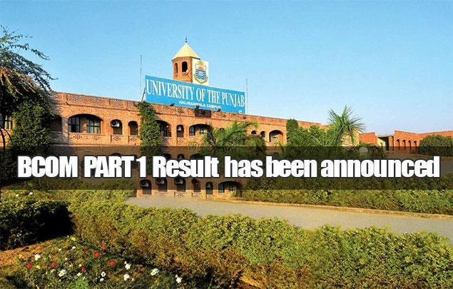 BCOM Part 1 Result 2019 announced by Punjab University