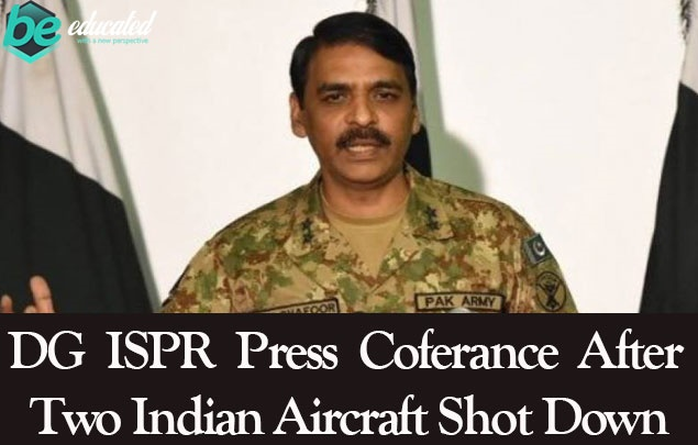DG ISPR Press Conference Before Few minuts