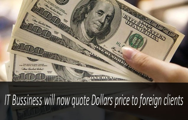 It Industry Will Know Quote The Prices In Us Dollars To