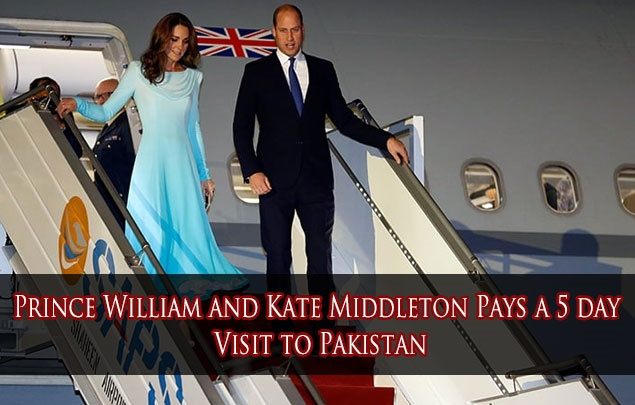 Prince William and Kate Middleton Pays a 5 day Visit to Pakistan