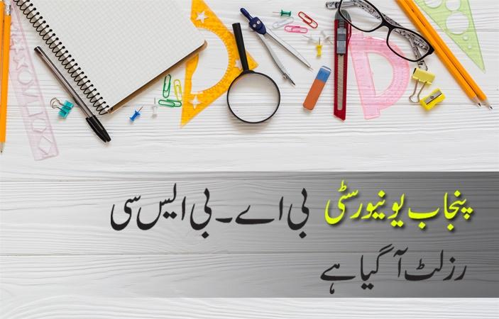 Punjab University BA/BSc Result 2017 Announced - PU Lahore