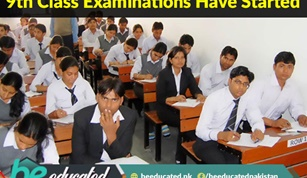 9th Class Examinations Have Started From Today