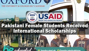 Pakistani Female Students Received International Scholarships