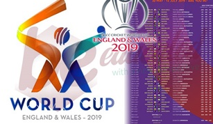 ICC WORLDCUP 2019: SCHEDULES AND VENUES ANNOUNCED