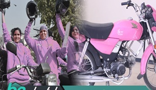 Free Motorcycles Distribution Under the Women on Wheel Program