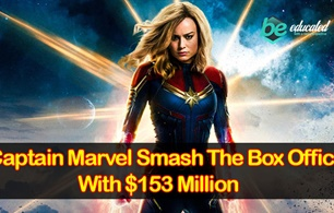 Captain Marvel Smash The Box Office With $153 Million