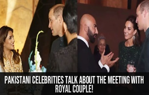 Pakistani Celebrities Talk about the meeting with Royal Couple!