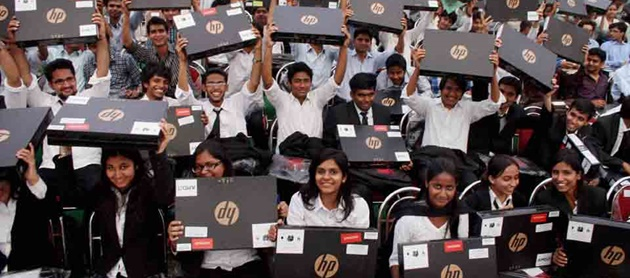 PHD scholars get laptop under PM laptop distribution scheme: