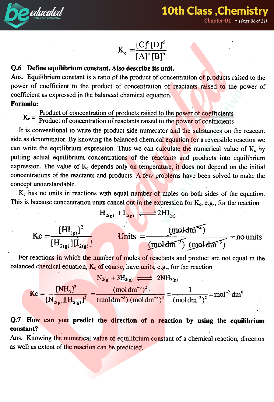 Chemistry notes ch 8 - Term paper Sample
