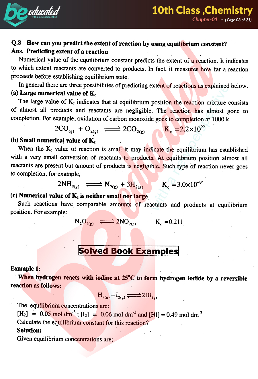 class 10 chemistry chapter 1 notes pdf