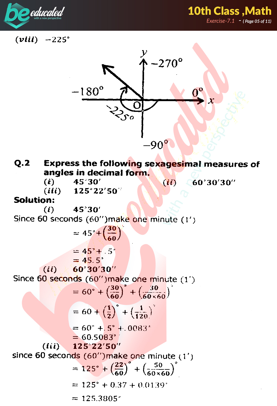 10th class maths notes pdf