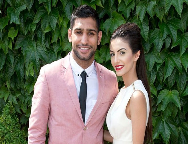 Amir Khan and Faryal Makhdoom Marriage Over Socially