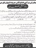 Jobs for Constable in Lakki Marwat 20 March 2018