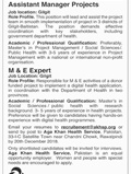 Jobs In Aga Khan Health Service 11 Dec 2018