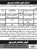 Jobs in Deputy Commissioner Haripur 27 March 2018