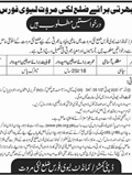 Jobs In District Lakki Marwat Levi Force 20 Mar 2018