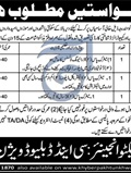 Jobs in Govt KPK District Office Department C & W 16 April 2018