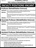 Jobs In Isra University Islamabad 29 Oct 2018