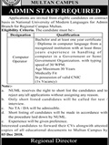 Jobs In National University Of Modern Languages 19 Nov 2018