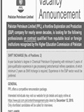 Jobs In Pakistan Petroleum Limited 03 Dec 2018