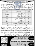 Jobs In Public Health Engineering Division Lakki Marawat 03 Apr 2018