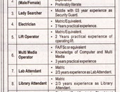 Bahria University Islamabad Offering Jobs 2019