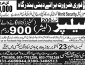 Chaudhry Recruiting Agency Offering Jobs In UAE