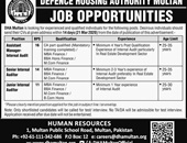 Defence Housing Authority job