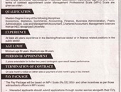 Director Jobs In Finance Department Islamabad