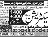 Electrician Jobs in Saudi Arabia