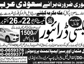 Faisal Usman Trade Offering Jobs In Saudi Arab