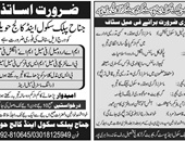 Get a Latest Education Jobs Haripur 2019