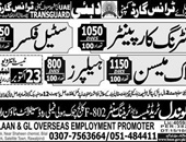 Gondal Trade Offering Jobs In Dubai