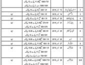 Irrigation Department Offering Jobs In  Quetta