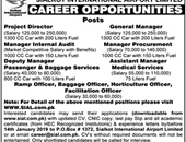Job In  Sialkot International Airport 31 Dec 2018