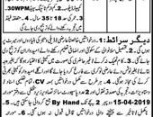 Jobs In Tehsil Headquarter Hospital Sillanwali Sargodha