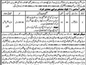 Junior Clerk Job in Civil Defence Department Multan