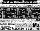 Latest Jobs in M&R Trade Test and Technical Training Center 2019