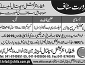Latest Jobs In Shifa International Hospital 2019