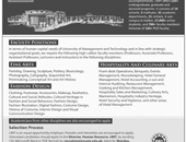 Latest Jobs In University Of Management and Technology 2019