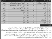 Medical Assistant,Driver Jobs In Combined Military Hospital CMH Karachi