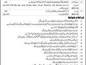 Personal Assistant,Web Administrator,Computer Operator Jobs In Board Of Intermediate & Secondary Education Swat