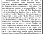 Research Associate job In Ned University Of Engineering & Technology Karachi