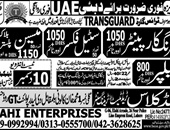 Steel Fixer jobs in World Class Trade Test and Training Center UAE