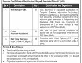 Web Manager,Project Assistant,Data Entry Operator Jobs In Information Technology Board  Muzaffarabad