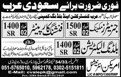 American International Company Offering Jobs 2019