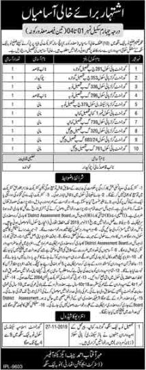 District Education Authority Offering Jobs In Toba Tek Singh