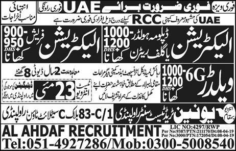 Get a Latest International Jobs In UAE 2019